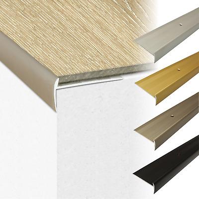Luxury Click Vinyl Flooring Stair Nosing Edge Profile Trim