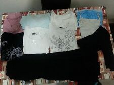 Lotto 131 stock 10 pezzi donna maglie pantaloni elasticizzatiTg.46