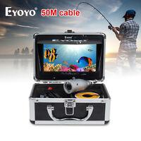 Eyoyo 50m/165ft 7 Tft Lcd Hd 1000tvl Silver Underwater Video Camera Fish Finder