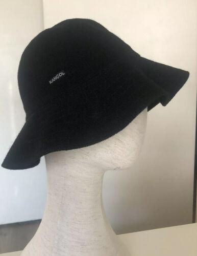 Vintage Kangol Bucket Hat, Black Size Medium