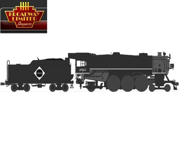 Broadway Limited 4607 HO Scale USRA 4-6-2 Erie Locomotive w  DCC & Sound
