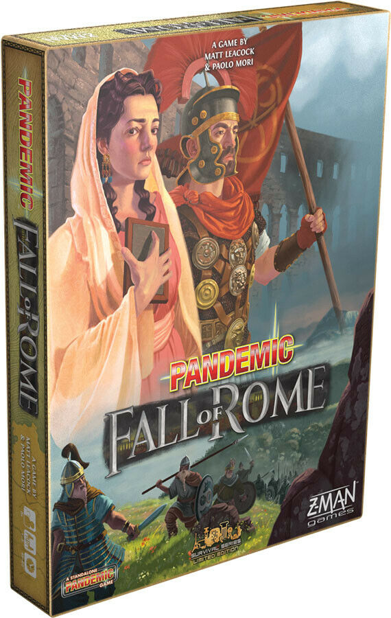Pandemic  Fall of Rome by Z-Man Games Games Games ZMGZM7124 1-5 Play, 8+, 45-60Mins cb73c4