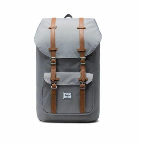 Herschel Little America Mens  Womens Backpack Rucksack Grey Brown