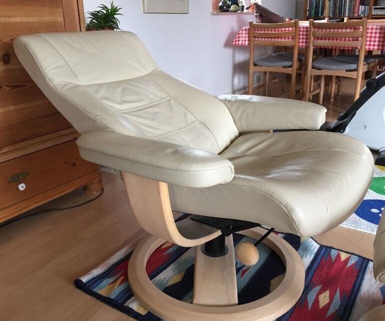 Komfortstol, læder, IMG Norway