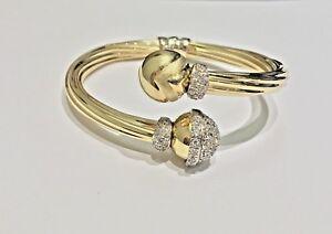 Jonc-rigide-ouvrant-bracelet-or-jaune-18-carats-Boules