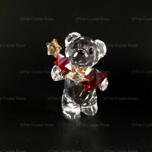 RARE-Retired-Swarovski-Crystal-Annual-Edition-2009-Kris-Bear-1006048-Christmas