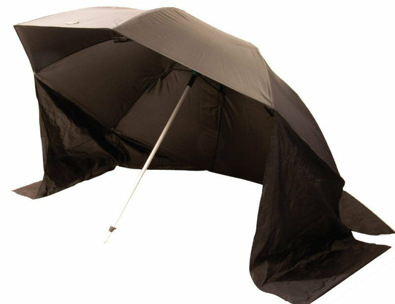 Beach Pro Fishing Brolly 45ö Heavy Duty Frame Wind Resistant