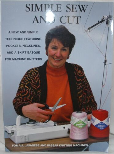 Simple Sew /& Cut for Use with ALL Knitting Machines Brother Passap etc M800