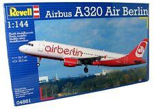 KIT REVELL 1:144 DA MONTARE AEREO DI LINEA AIRBUS A320 AIR BERLIN 04861