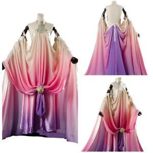 Star Wars 3 Padme Amidala Naberrie Cosplay Costume Lake Side Dress ...