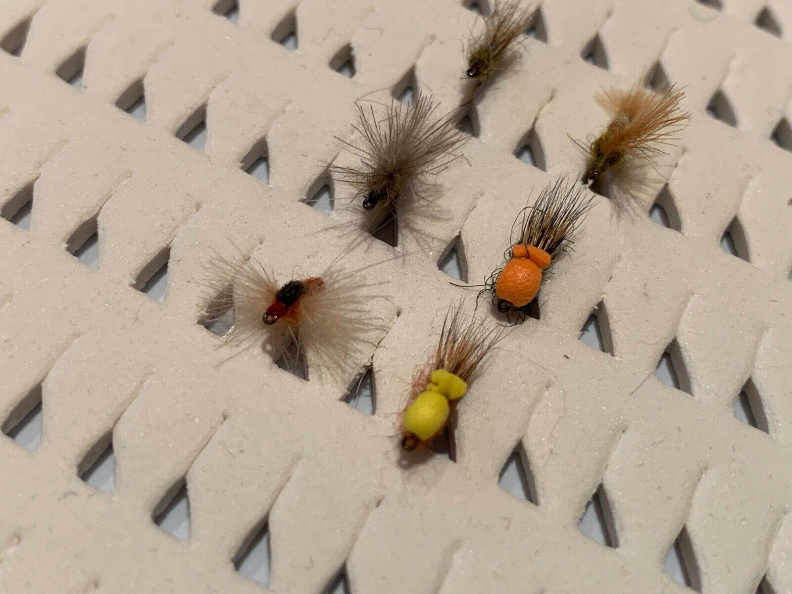 OFERTA OFERTA OFERTA  12 mosca surtidas, sin muerte  18 y  20  FLY FISHING (27) 75b1a6
