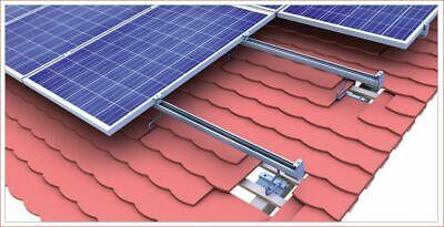 Photovoltaik-zubehör Intelligent Montagesystem Photovoltaik Für Biberschwanz Eindeckung Und Kabelkanal