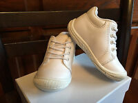 Genuine Leather Baby Boy Girls Shoes White Us Size 6 Compared Stride Rite Walker