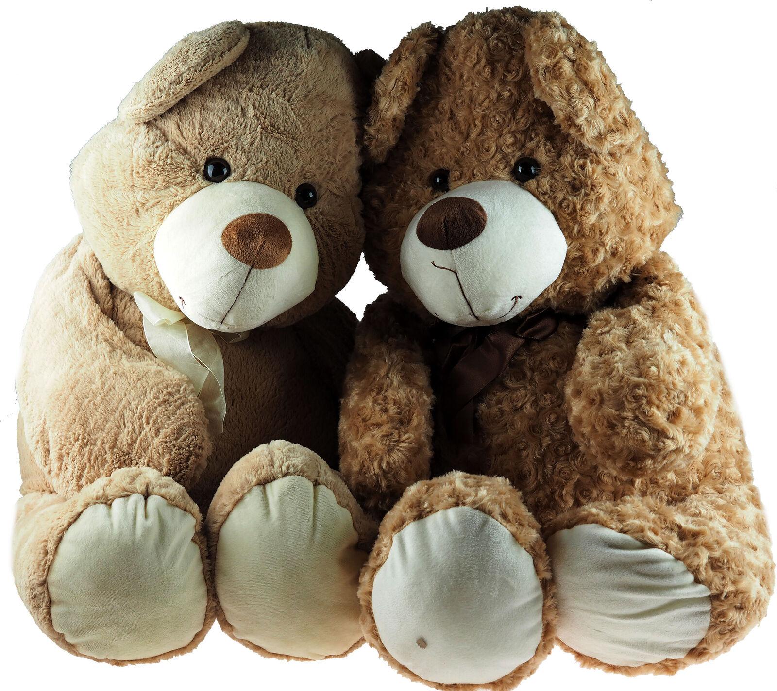 Giant 80cm XL Soft Plush Cuddly Teddy Bear