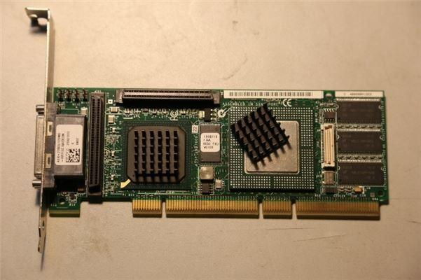 1Pcs Used Adaptec ASR-2200S 64Mb Dual-Port U320 Raid Controller Good Conditio qz