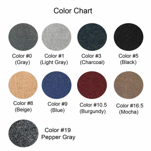 Grey Carpet Dash Mat Compatible with 2016-2018 TITAN Dash Cover Made in USA