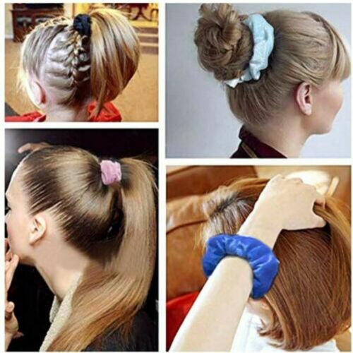 50Pcs Hair Scrunchies Velvet Elastics Hair Ties Scrunchy Bands Ties Ropes Nice