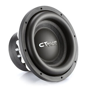 """CT Sounds Strato 12"""" Dual 2 Ohm Car 12 Inch Subwoofer D2 1250w Watts RMS Audio"""