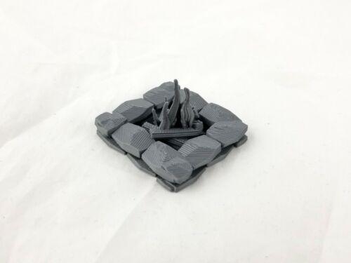 Large Stone BonfireCampfire MiniatureDungeons and DragonsWarhammer