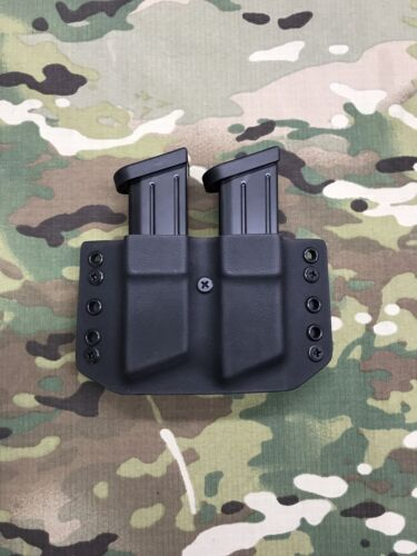 Black Kydex Dual Magazine Carrier for CZ P-07