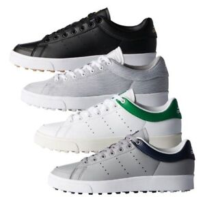official photos d547f 099c9 Image is loading JUNIOR-Adidas-Adicross-Classic-Spikeless-Golf-Shoes-New-