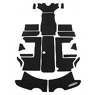 hydro-turf mats Sea-doo challenger 2000//X boat BLACK SD09 Carpet interior pads