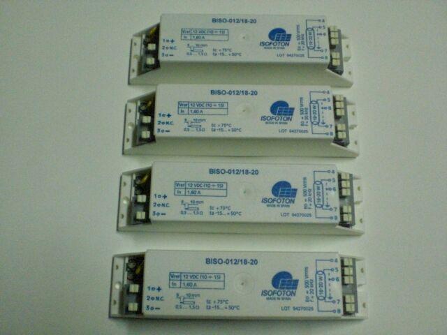 Reactancia Balastro Electronico 12Voltios 18/20w electronic ballast (4 unidades)