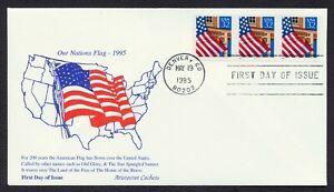 #2913 32c Bandera Sobre Porch-Pnc 11111 , Aristocrat FDC Cualquier 5=
