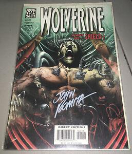 WOLVERINE #26 Marvel DF Variant Signed John Romita Sr. 205/399