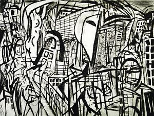 DDR-Kunst-034-Vindelizien-1986-Radierung-Veit-HOFMANN-1944-D-handsigniert