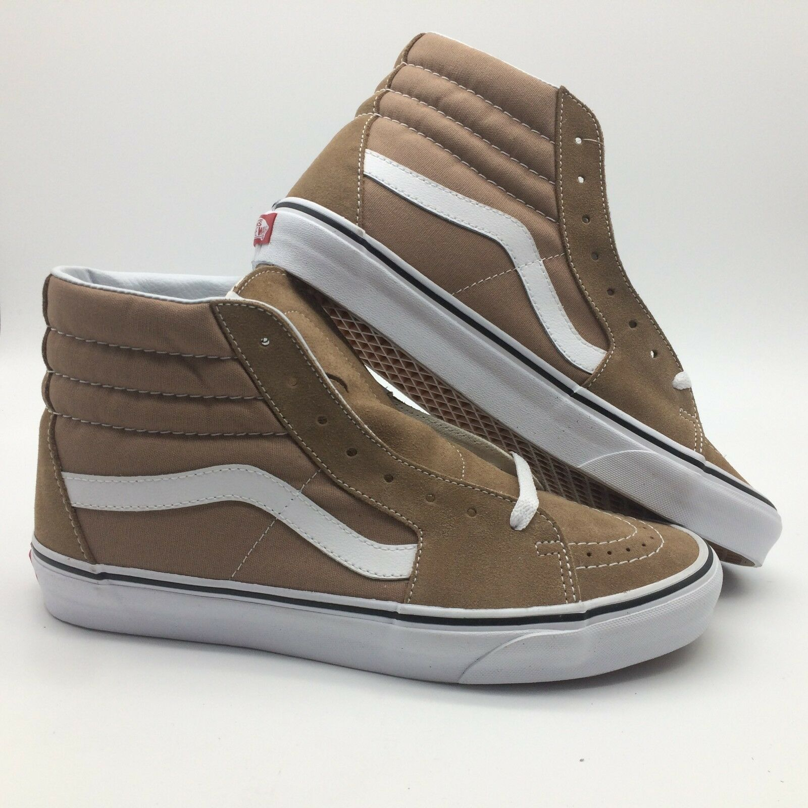 Vans Men's shoes  Sk8 Hi  Tiger's Eye True White