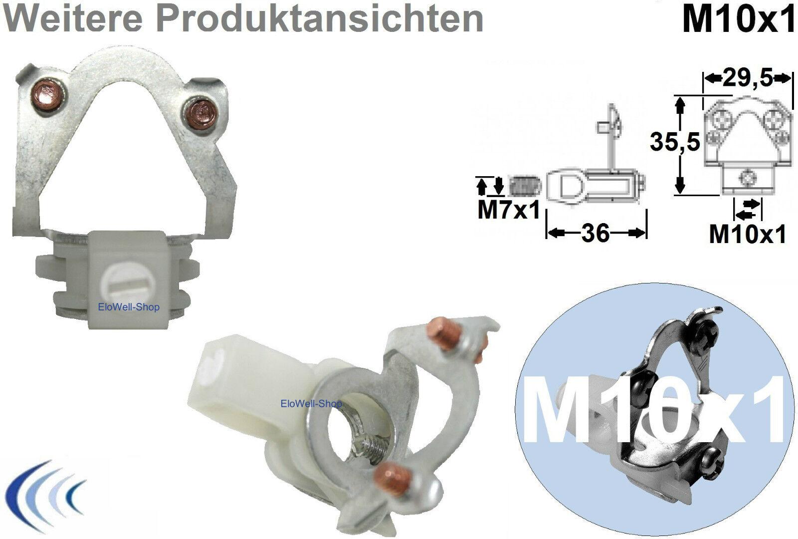 1 10 25 pezzi pendolo pendolo pendolo TUBO LACCIO m10x1 senza O. con zugentlaster Tubo-laccio b577a8