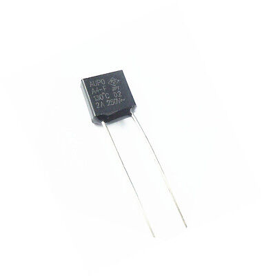 Quickbuying 5 Pcs Aupo Thermal Fuse Cutoff TF 130℃ 250V 2A A4-F New