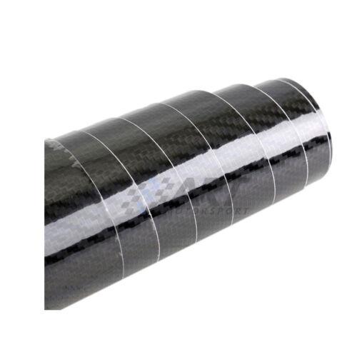 Vinilo de carbono 5D negro rollo de 150 x 20cm moldeable con calor carbon vinyl