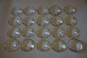 Bi konvex Linsen HQ Optik Fernrohr Lupe Brennglas aspherisch 60-70mm Projektor