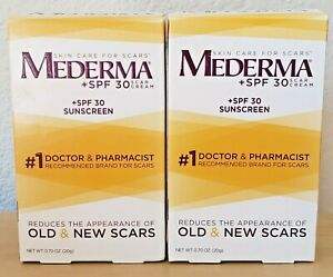 2 Mederma Scar Cream Spf 30 Sunscreen For Scars 0 7 Oz 186295000687 Ebay