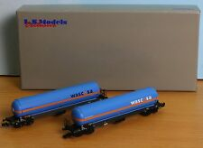 LS 76104, Spur N, DB AG Gaskesselwagenset 2tlg, Wascosa, 4-achs. LS Models 76104