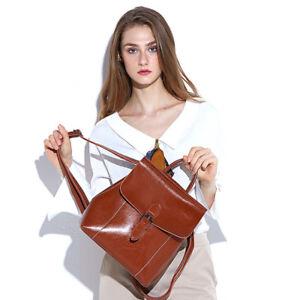 Women-Genuine-Leather-Backpack-Handbag-Shoulder-Bag-Crossbody-Hobo-L6137