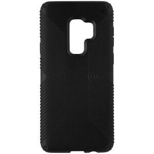 new arrivals b57c5 e4584 Details about Speck Presidio Grip Samsung Galaxy S9 Plus Case, Black/Black