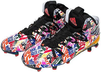 Adidas Freak x Kevlar Football Shoes Black//White S84030 Sz 8.5 9 9.5