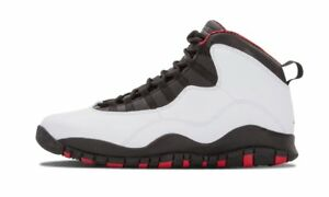410a90536c0a Air Jordan Retro 10 Chicago Size 10.5 White Varsity Red-Black 310805 ...