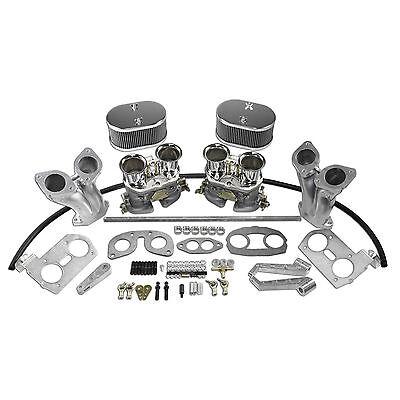 AA Dual 44mm Dual Carburetor Kit VW Type 1