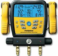 Fieldpiece Sman380v 3 Port Wireless Digital Manifold With Micron Gauge