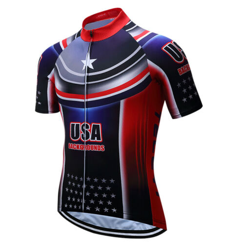 Summer Cycling Jersey Mountain Bike Clothing Racing MTB Bicycle Clothes Uniform