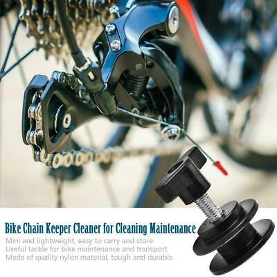Bicycle Chain Keeper Fix Clean Tool Quick Release Protector Bike Wheel Holder SD