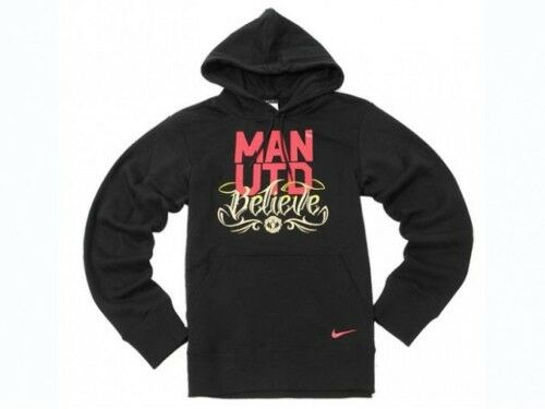 0599 NIKE MANCHESTER UNITED TG. XXL FELPA CAPPUCCIO HOODED HOODY TOP ROONEY