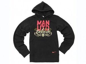 Recuerdo de múltiples fines toda la vida  0599 Nike Manchester United Size L Hoodie Sweatshirt Hooded Hoody ...