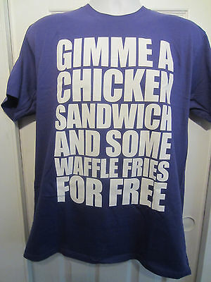 Chicken Sandwich For Free T-Shirt   NWOT Hot Topic