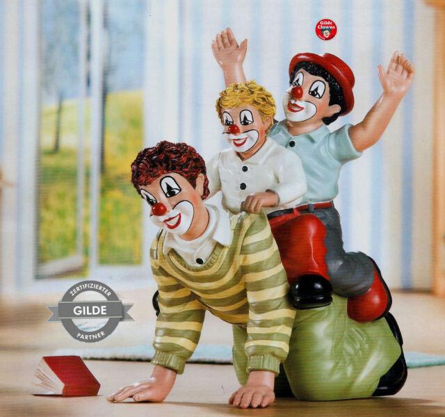 Gilde Clowns Clown - Der doppelte Reiter - limitierte Sonderedition NEU 10198