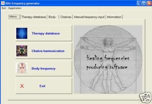 Details about Dr  Rife bio-resonance therapy software